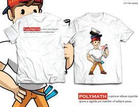 #37 for Polymath t shirts af JYTYArtGallery