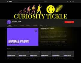 Nro 83 kilpailuun Design a YouTube channel banner and art käyttäjältä UdhayasuriyanS