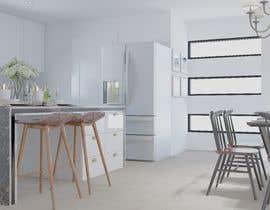 #31 untuk 3D Rendering of a Kitchen Design oleh Kubragull