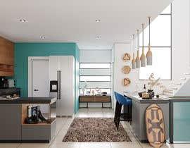 #34 untuk 3D Rendering of a Kitchen Design oleh gurshan8054