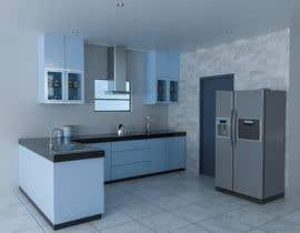 #5 untuk 3D Rendering of a Kitchen Design oleh ahmedkhijir