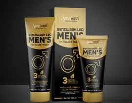 Nro 36 kilpailuun Design carton and tube label for male intimate wash and create mock up käyttäjältä Fercho2020