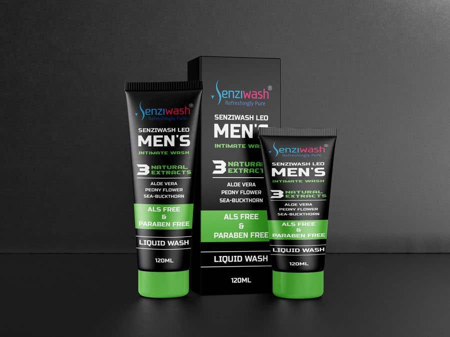 Конкурсная заявка №                                        30                                      для                                         Design carton and tube label for male intimate wash and create mock up