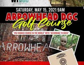 #46 para Event flyer - disc golf outing por maidang34