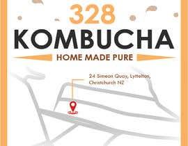 #43 for Kombucha Bottle Label by Fantasygraph