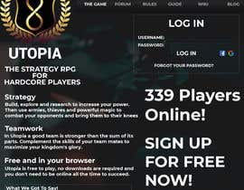 #27 for Utopia Game Home Page and Logo by parveshossaink