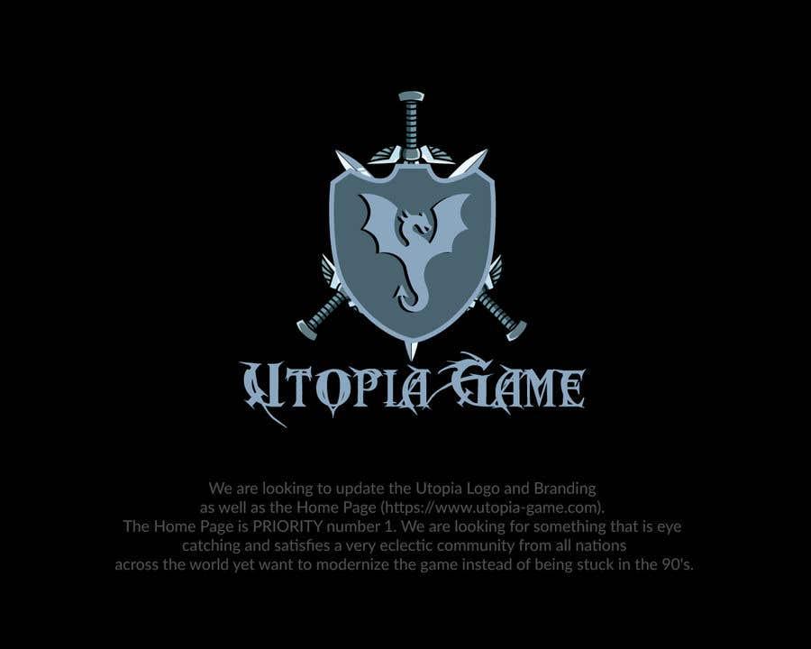 Bài tham dự cuộc thi #                                        48                                      cho                                         Utopia Game Home Page and Logo