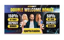 Proposition n° 35 du concours Graphic Design pour Double Welcome Bonus Banner