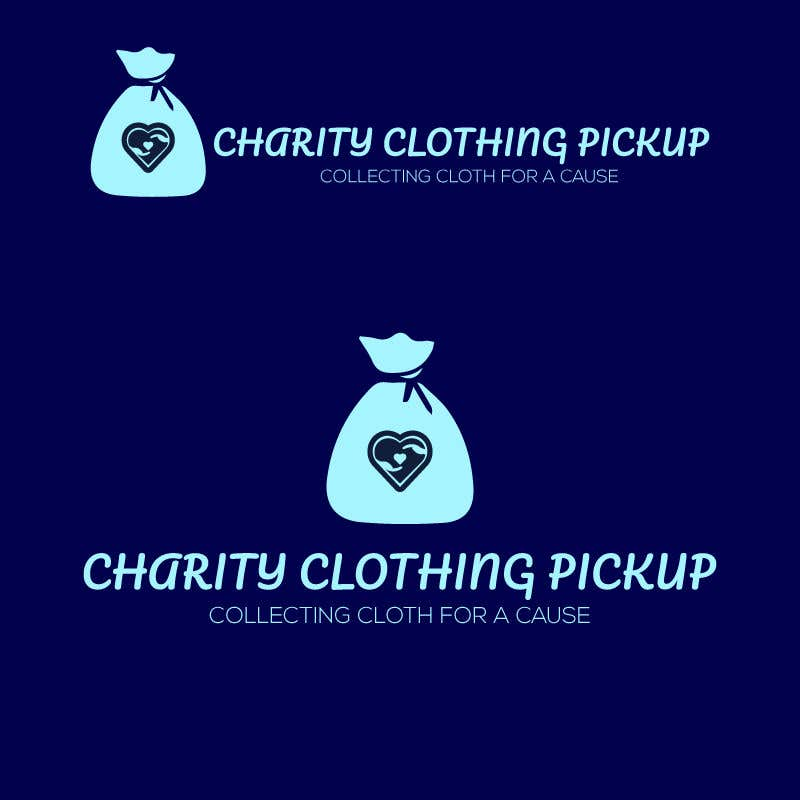 Contest Entry #                                        21                                      for                                         Charity Clothing Pickup Logo