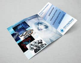 #14 for Urgent-style a 3-fold brochure for services (themes of 3D, animation, apps) af todtodoroff