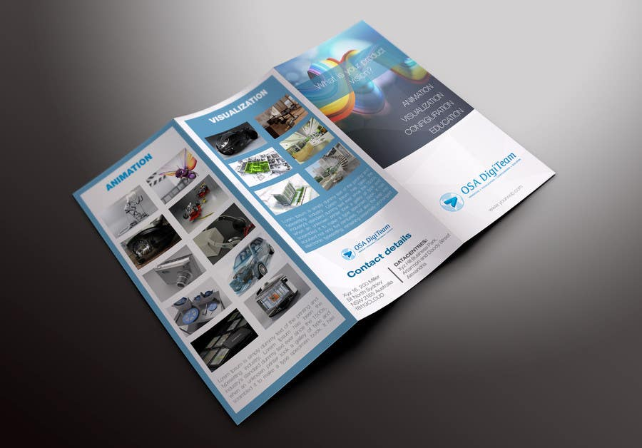 Entry #18 by stylishwork for Urgent-style a 3-fold brochure for