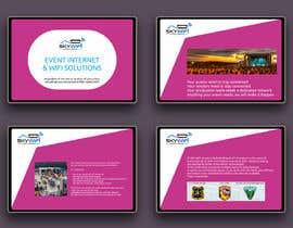 Nro 124 kilpailuun WIFI Company Powerpoint presentation for music festivals and Events with motion käyttäjältä lupaya9