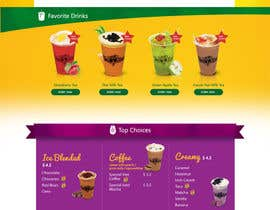 #17 for Design a Website Mockup for Bubble Tea business by leandeganos