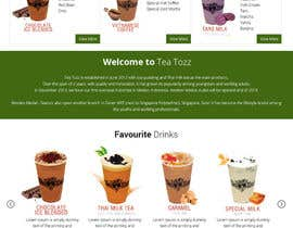 #14 for Design a Website Mockup for Bubble Tea business by Lakshmipriyaom