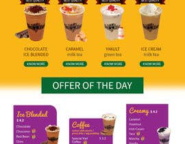 #3 for Design a Website Mockup for Bubble Tea business by imagewebs