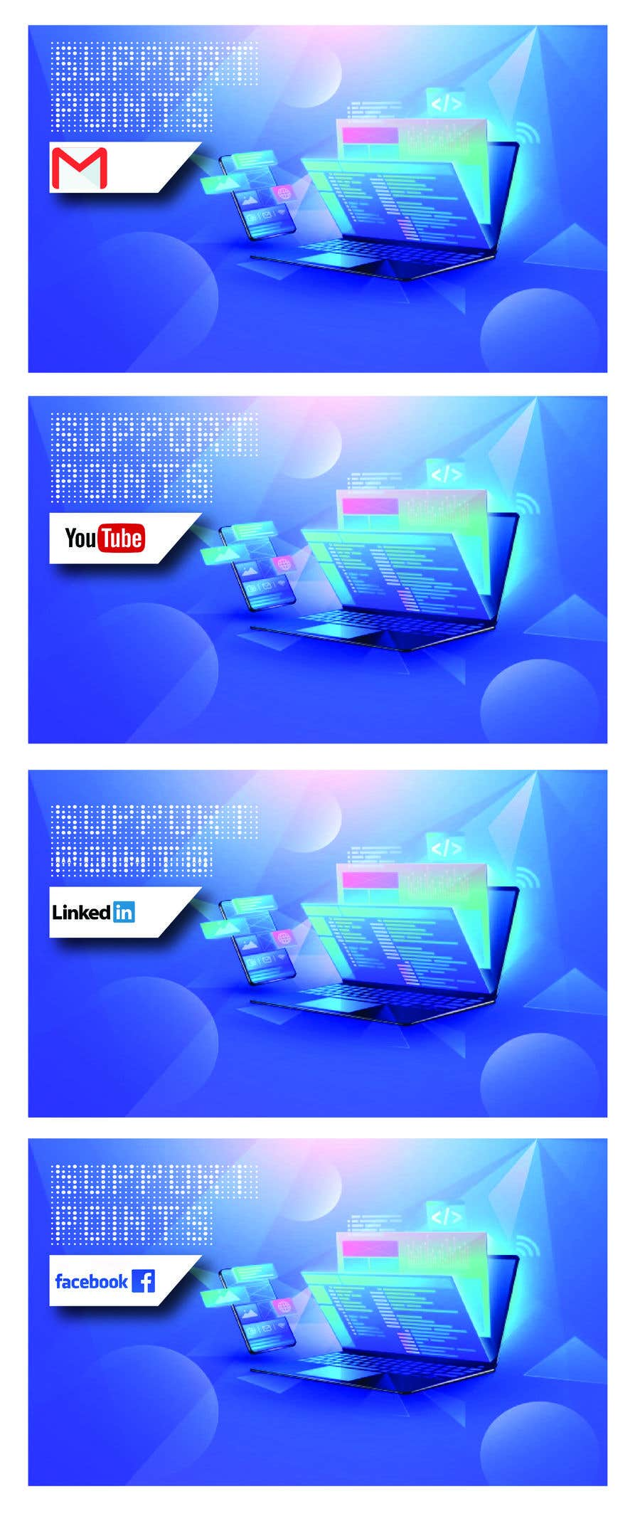 Kilpailutyö #                                        5                                      kilpailussa                                         Banner design for technical platform