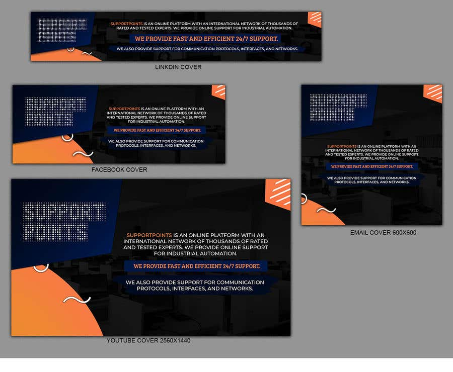 Kilpailutyö #                                        13                                      kilpailussa                                         Banner design for technical platform