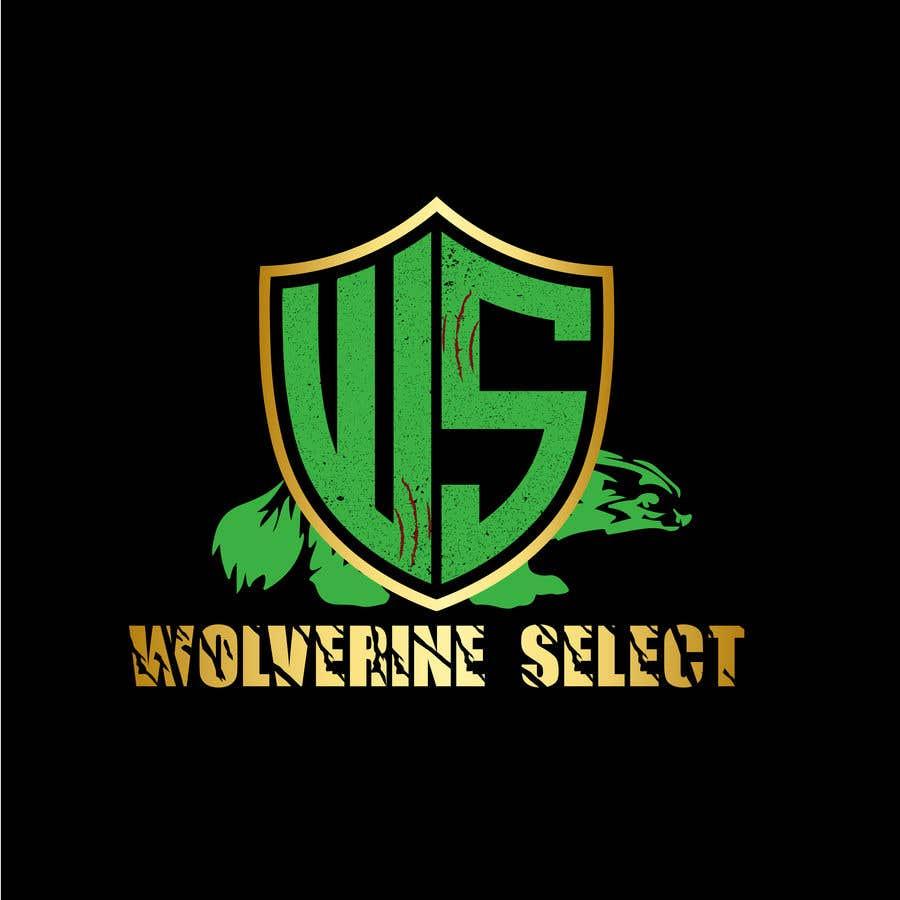 Konkurrenceindlæg #                                        33                                      for                                         Logo for Basketball team (Wolverine Select)