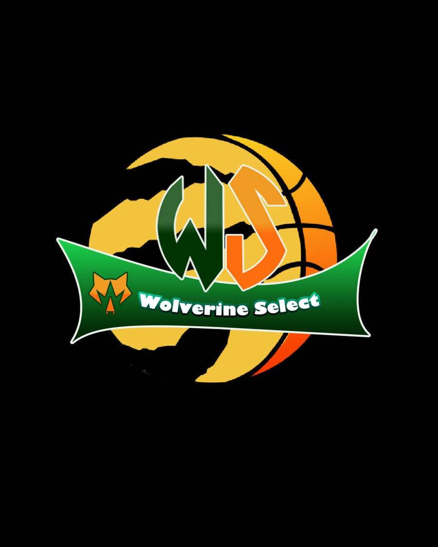 Konkurrenceindlæg #                                        24                                      for                                         Logo for Basketball team (Wolverine Select)