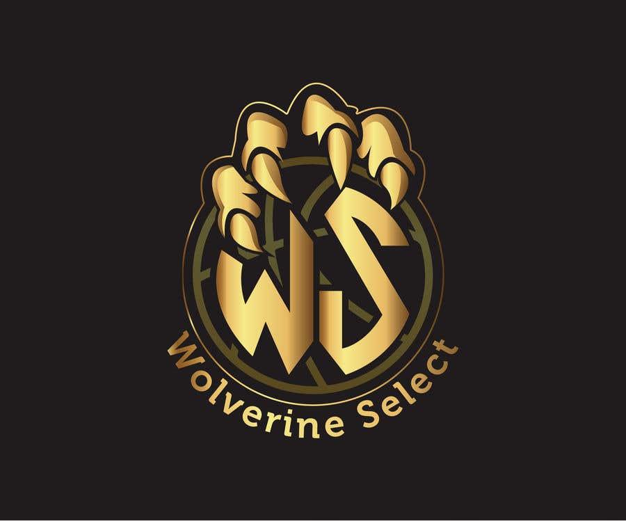 Konkurrenceindlæg #                                        44                                      for                                         Logo for Basketball team (Wolverine Select)