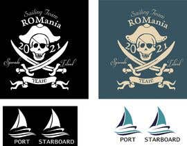 #19 for 3 logos in corel for a piarte and sailing inspired t-shirt by Kshitijkumar784