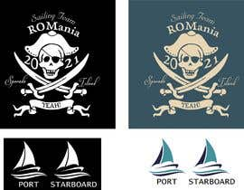 #20 for 3 logos in corel for a piarte and sailing inspired t-shirt by Kshitijkumar784