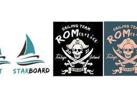 #23 for 3 logos in corel for a piarte and sailing inspired t-shirt by RAJ4008