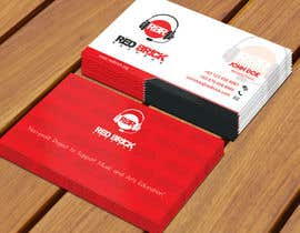 #17 untuk reDesign Business Card for red brick records oleh Derard