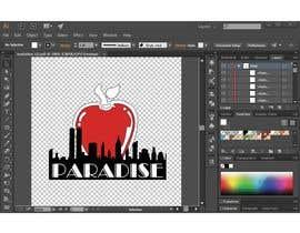 "Bros03 tarafından Please RE-DRAW the example ""Big Apple"" image using Adobe Illustrator. için no 93"