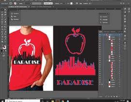 "mdkabir2020 tarafından Please RE-DRAW the example ""Big Apple"" image using Adobe Illustrator. için no 99"
