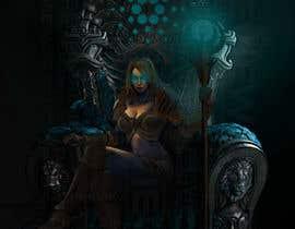 #31 para Goddess of a crypto world (Dark comics) por haidarhashim