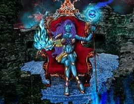 #13 para Goddess of a crypto world (Dark comics) por LeoDesenhoseCia