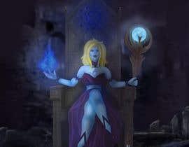 #27 para Goddess of a crypto world (Dark comics) por TheRedFoxForU