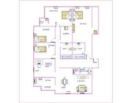 #5 for Floor plan for new flat ideas by AshikGhosh477