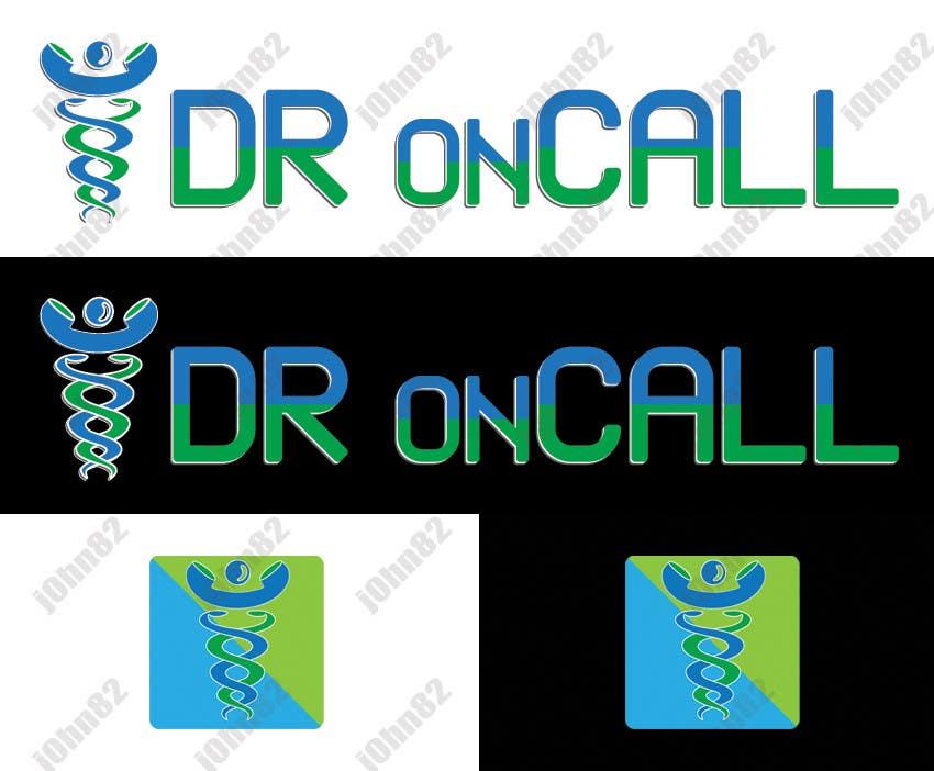"""Kilpailutyö #20 kilpailussa Design a Logo for """"Dr OnCall"""" application/website"""