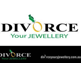 #147 para Logo Design for Divorce my jewellery por pupster321