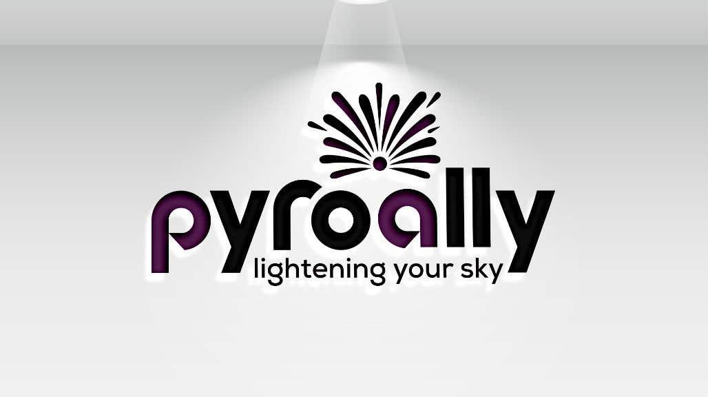 Kilpailutyö #                                        126                                      kilpailussa                                         create a fireworks product logo