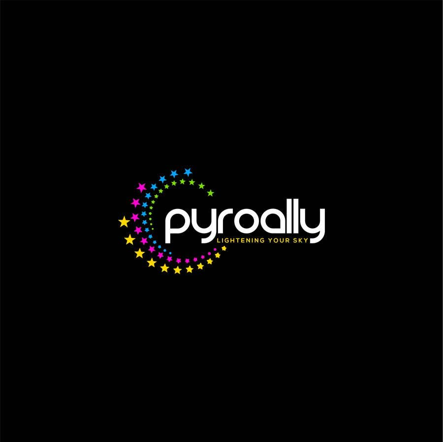 Kilpailutyö #                                        183                                      kilpailussa                                         create a fireworks product logo