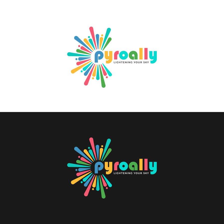 Kilpailutyö #                                        61                                      kilpailussa                                         create a fireworks product logo