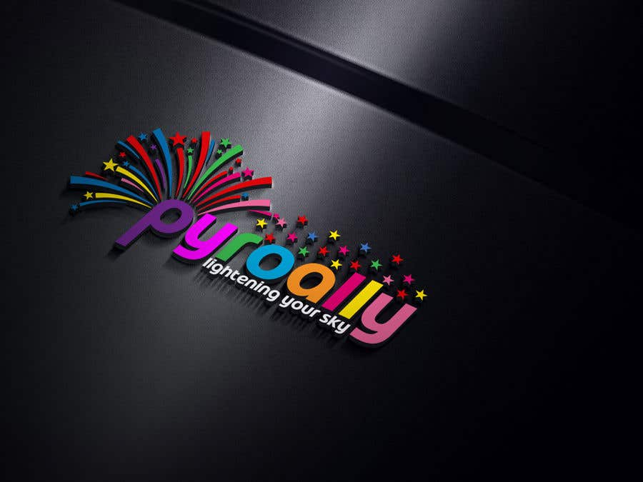 Kilpailutyö #                                        178                                      kilpailussa                                         create a fireworks product logo