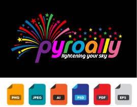 #179 para create a fireworks product logo por Hridoyahmed01