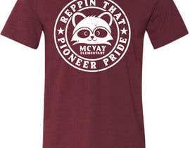 #134 para McVay Elementary Reppin that Pioneer Pride Tee Shirt logo por GDProfessional