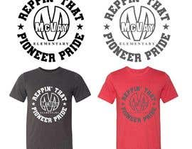 #71 para McVay Elementary Reppin that Pioneer Pride Tee Shirt logo por rockztah89
