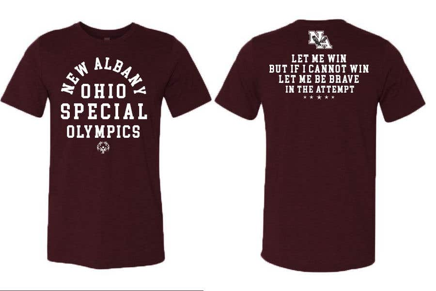 Konkurrenceindlæg #                                        59                                      for                                         New albany Special Olympics Tee Shirt Design