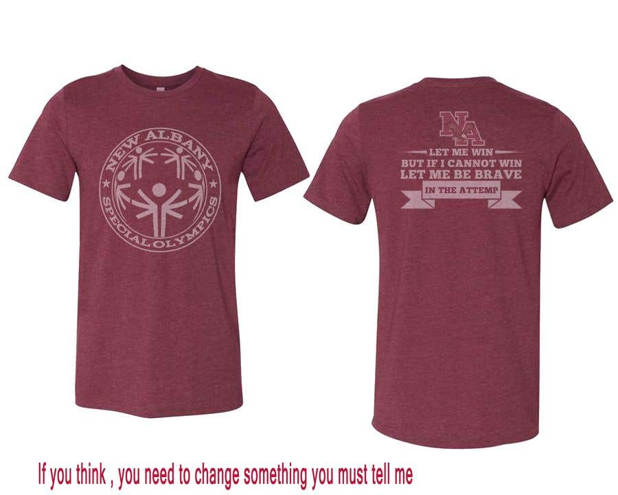 Konkurrenceindlæg #                                        135                                      for                                         New albany Special Olympics Tee Shirt Design