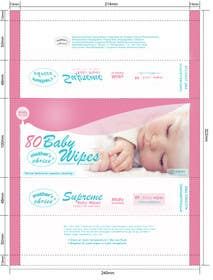 #5 cho Create Print and Packaging Designs for A Baby Wet Wipes bởi RainMQ