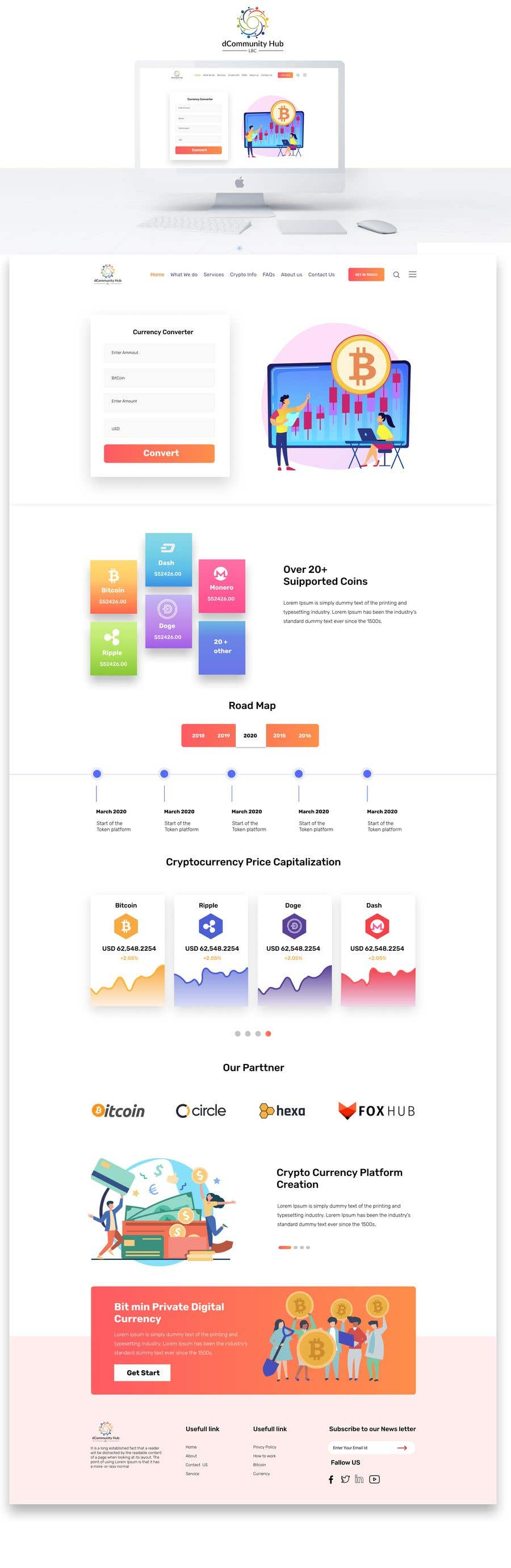 Penyertaan Peraduan #                                        15                                      untuk                                         Contest – Crypto Information Website Section: $100