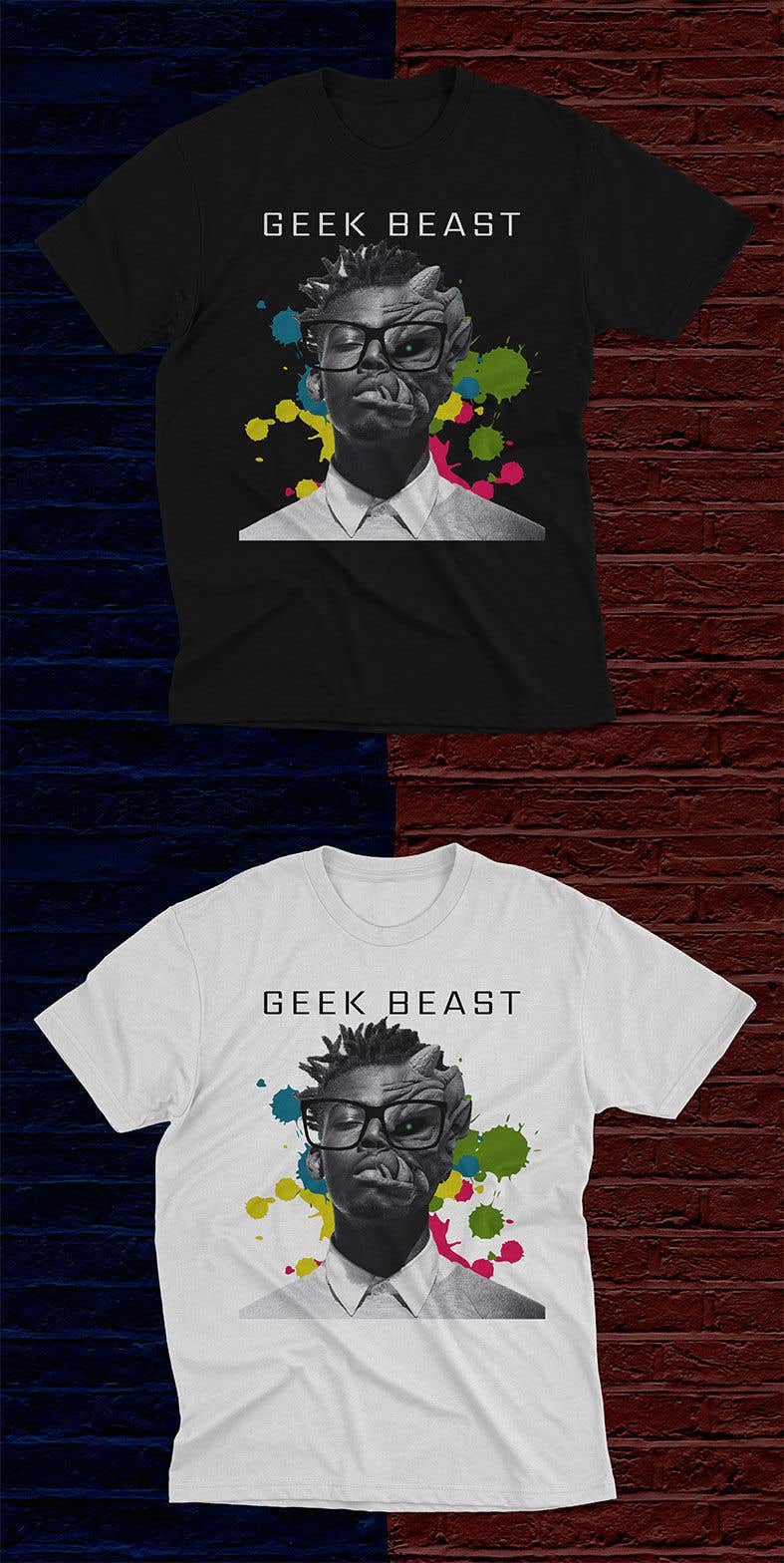 Contest Entry #                                        25                                      for                                         T-shirt Design for Geek/Tech content creator