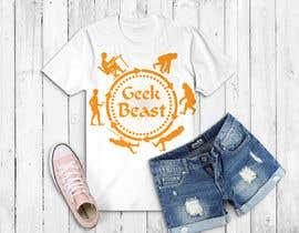 nuri47908 tarafından T-shirt Design for Geek/Tech content creator için no 30