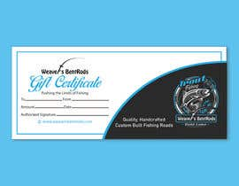 #50 for Gift certificate template by TheCloudDigital